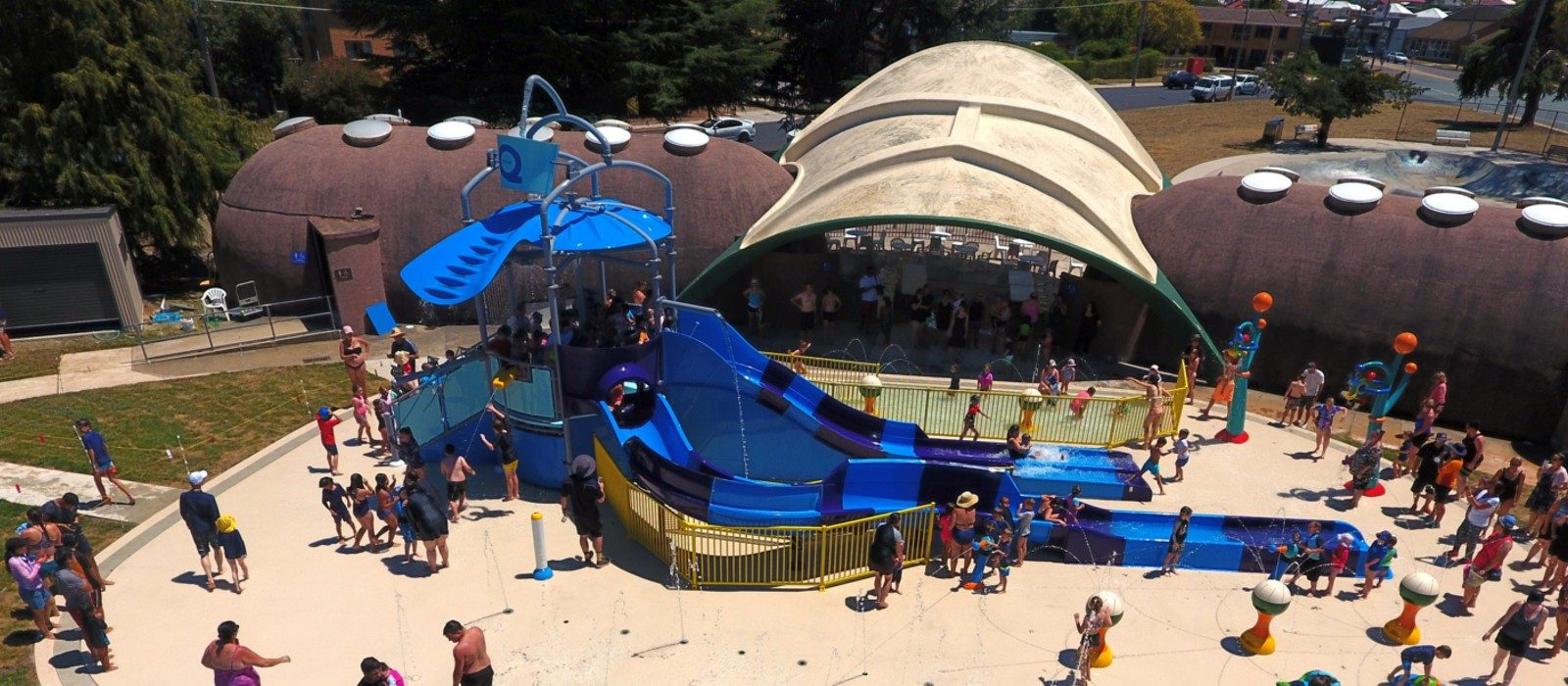 Q-One Aquatic Centre Splash Pad
